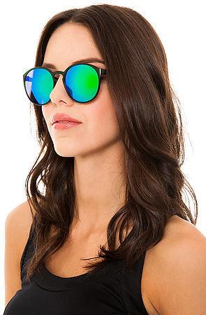 Le Specs The Swizzle Sunglasses in Caribbean Sea