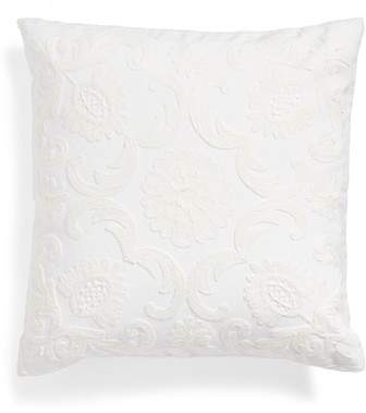 Bree Embroidered Accent Pillow