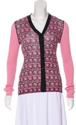 Duro Olowu Geometric Print Button-Up Cardigan