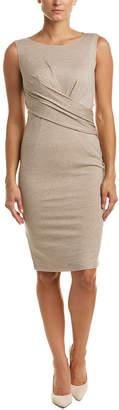 Max Mara Wool-Blend Sheath Dress