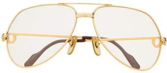 Cartier Pre-Owned aviator reading glasses