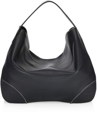 Alaia Studded Leather Hobo