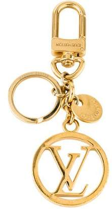 Louis Vuitton Logo Key Ring