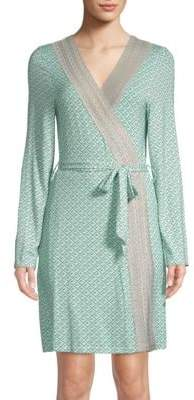 Saks Fifth Avenue COLLECTION Lori Striped Robe