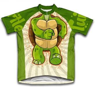 Scudo Turtle Microfiber Short-Sleeved Cycling Jersey, Assorted Sizes