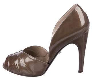 Salvatore Ferragamo Patent Leather High-Heel Pumps