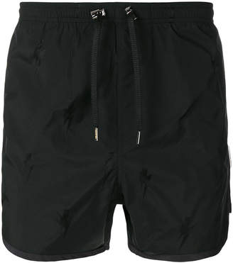 Neil Barrett piped swim shorts