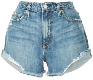 Nobody Denim Skyline frayed denim shorts