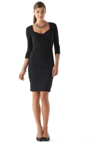 White House Black Market 3/4-Sleeve Dress