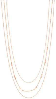 Gorjana CZ Triple Layer Necklace