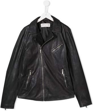 John Galliano TEEN leather jacket
