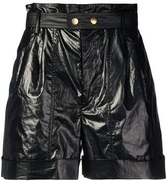 Isabel Marant high waisted belted shorts