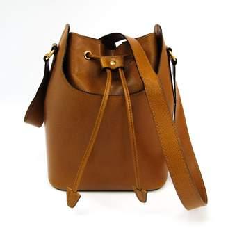 Celine Brown Leather Bucket Shoulder (SHA12049)