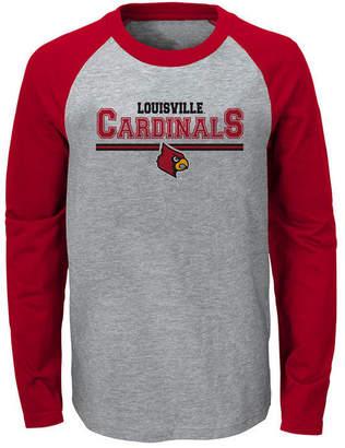 Outerstuff Louisville Cardinals Field Line Long Sleeve T-Shirt, Big Boys (8-20)