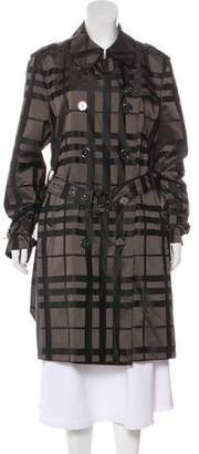 Burberry Double-Breasted Long Coat