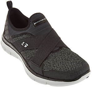 As Is Skechers Cross - Strap Slip - On Sneakers New Image $34.75 thestylecure.com