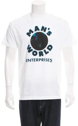 Supreme Man's World Crew Neck T-Shirt