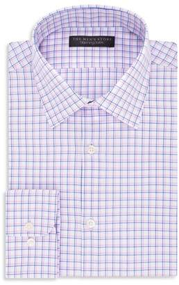 Bloomingdale's The Men's Store at Checked Regular Fit Dress Shirt - 100% Exclusive