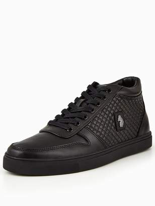 Luke Hartley Quilted Side Panel Mid Rise Trainer