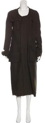Haider Ackermann Wool-Blend Long Coat
