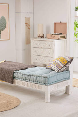 Amira Carved Wood Daybed