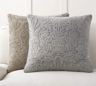 Pottery Barn Melodie Embroidered Pillow Cover