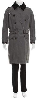Burberry Wool-Lined Trench Coat