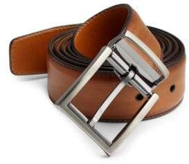 Saks Fifth Avenue COLLECTION BY MAGNANNI Walter Adjustable Leather Belt