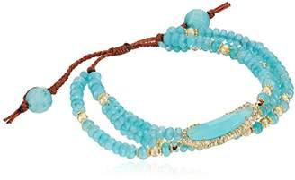 Tai Multi-Strand Agate Stone Bracelet