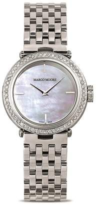 Bloomingdale's Marco Moore Swiss Movement Watch, 35mm