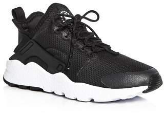 Nike Women's Air Huarache Run Ultra Lace Up Sneakers