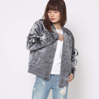 GUESS (ゲス) - ゲス GUESS CHARLEE TEXTURED BOMBER JACKET
