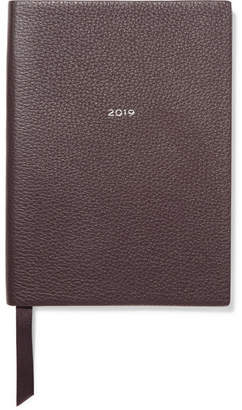 Smythson Soho 2019 Textured-leather Diary