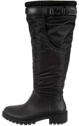 free shipping best discount cheapest price DKNY Nylon Round-Toe Boots AZwWDbu