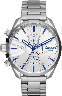 Diesel Ms9 Chrono Stainless-Steel Chronograph Bracelet Watch