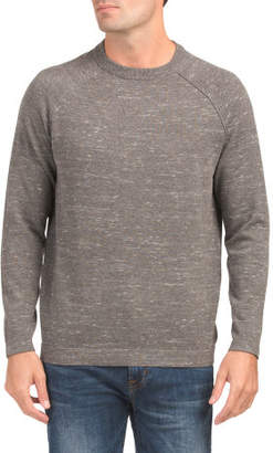 Long Sleeve Crew Neck Pullover Sweater