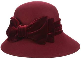 Dorfman Pacific Velvet Ribbon Hat
