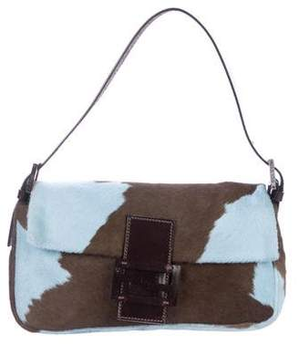 20a42cf162fa Pre-Owned at TheRealReal · Fendi Ponyhair Baguette Bag