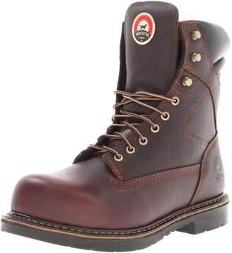 "Irish Setter Men's 83824 8"" Steel Toe Work Boot"