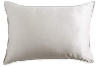 Pure Silky Standard Pillow Sham in Platinum