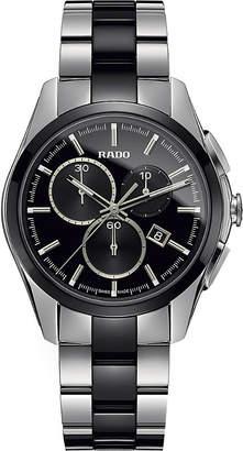 Rado R32038152 HyperChrome Chronograph stainless steel and ceramic watch