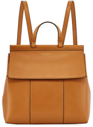 Block-T Leather Backpack