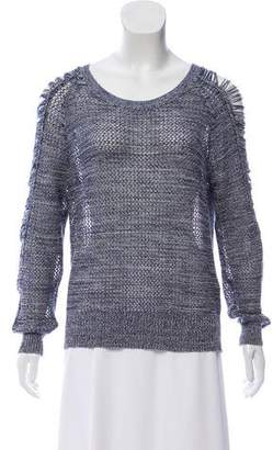IRO Open Knit Cutout Sweater