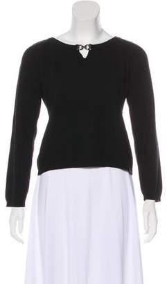 Salvatore Ferragamo Wool-Blend Knit Sweater