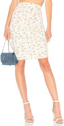 LPA Shirred Skirt