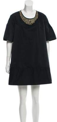 Behnaz Sarafpour Short Sleeve Mini Dress w/ Tags
