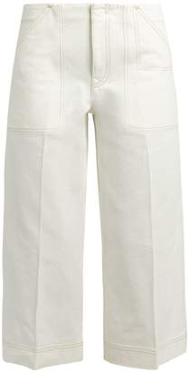 Acne Studios Texel cropped wide-leg jeans