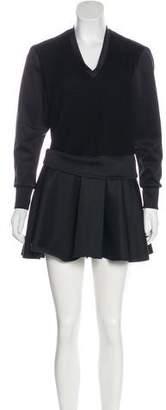 Neil Barrett Long Sleeve Mini Dress