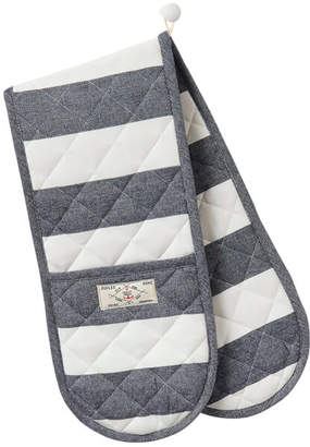 Joules Stripe Oven Glove - French Navy Stripe