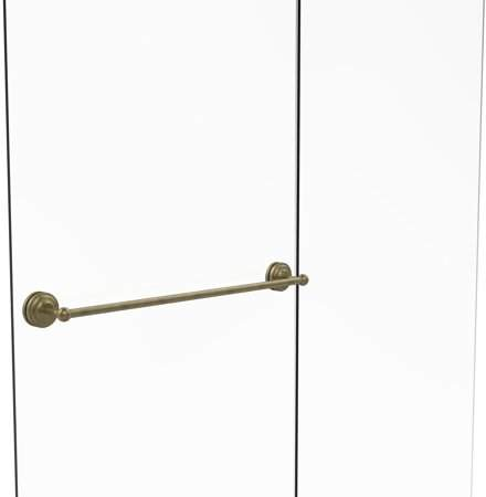 Allied Brass Que New Collection 30 Inch Shower Door Towel Bar